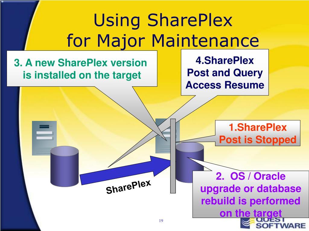 Using SharePlex
