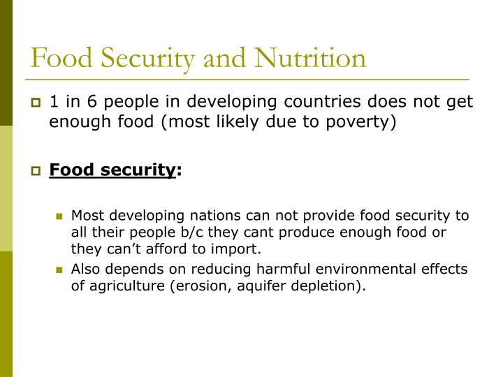 Food security and nutrition l.jpg