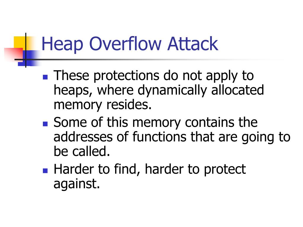 Heap Overflow Attack