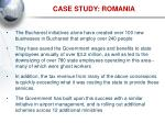 case study romania14
