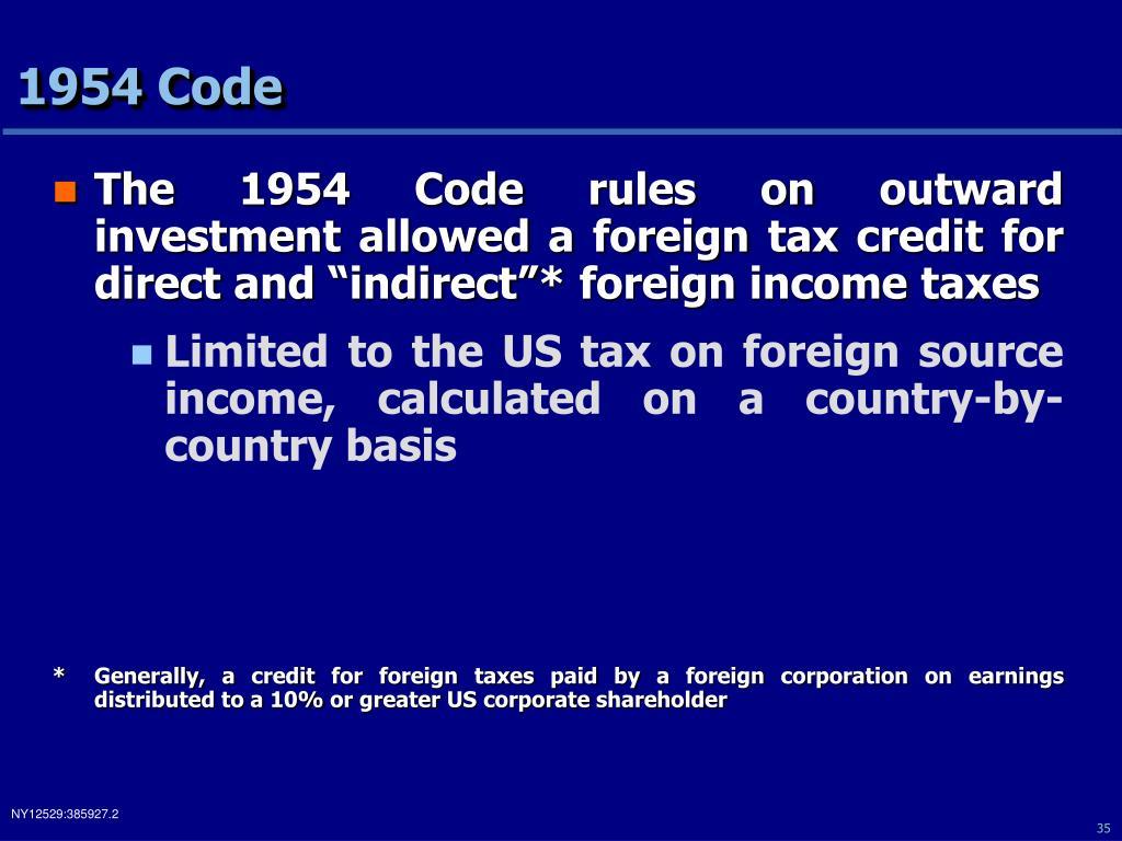 1954 Code