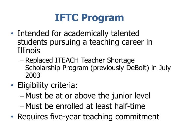 IFTC Program