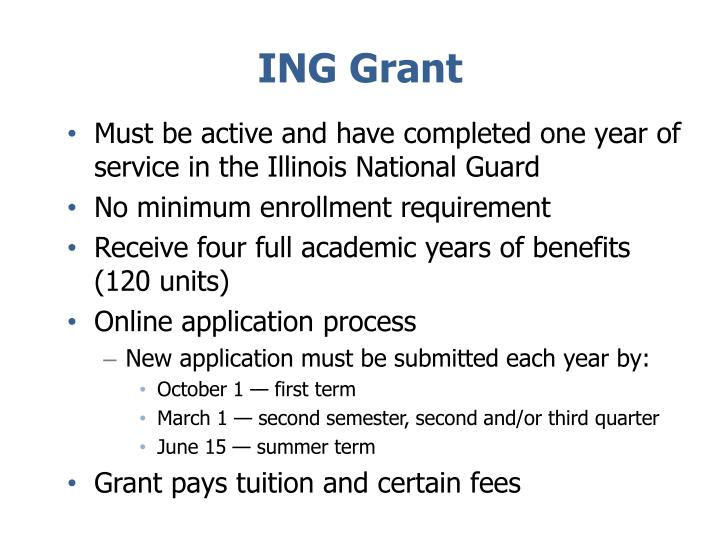 ING Grant