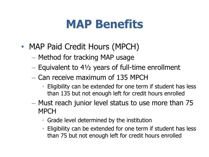 MAP Benefits