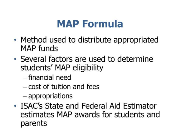 MAP Formula