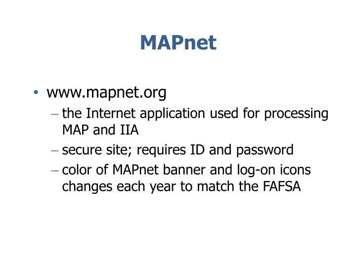 MAPnet