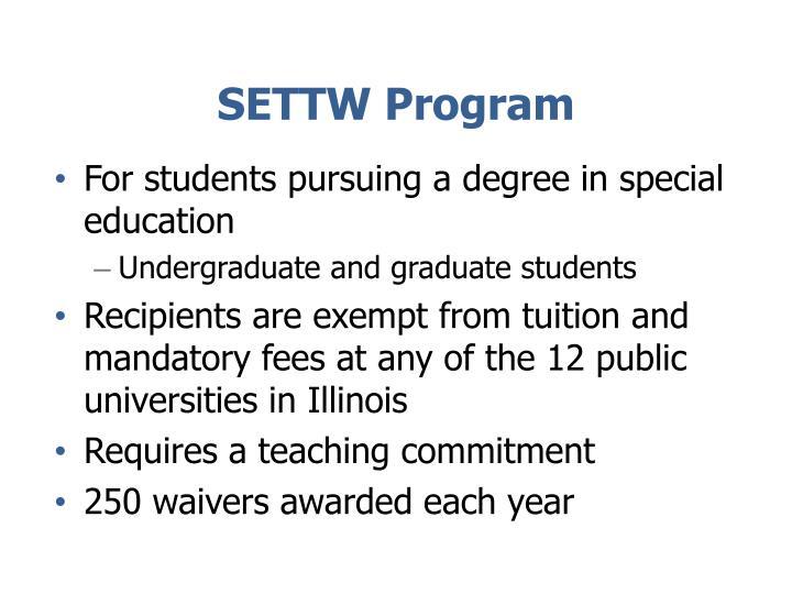 SETTW Program