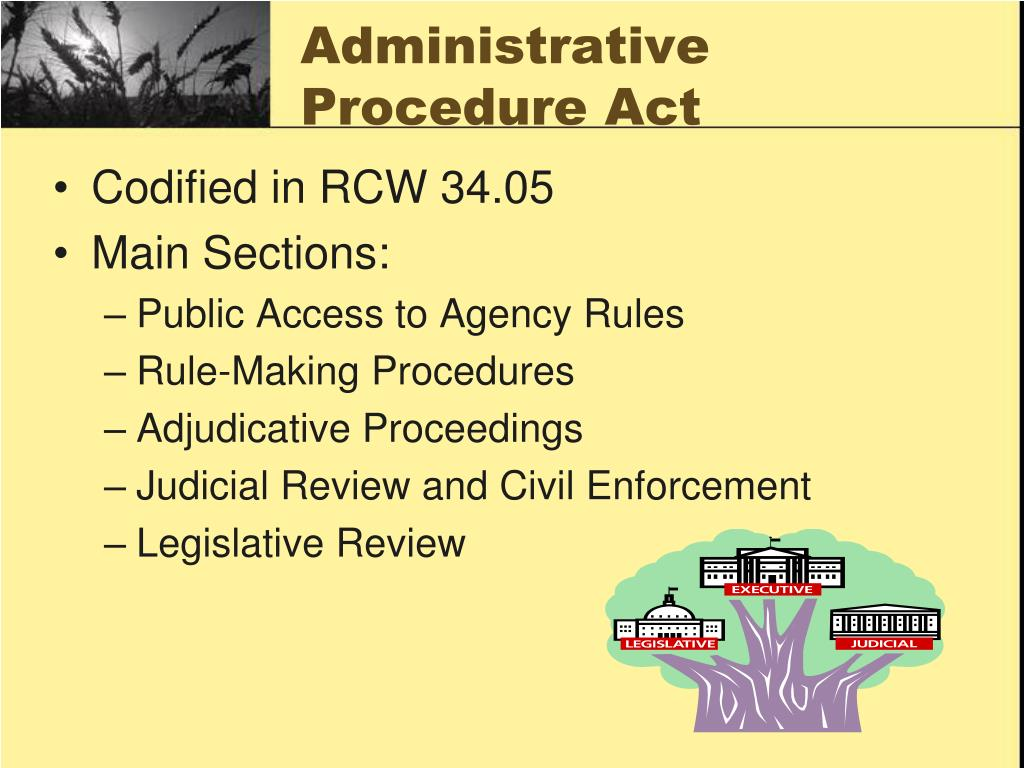 Administrative Procedure Act