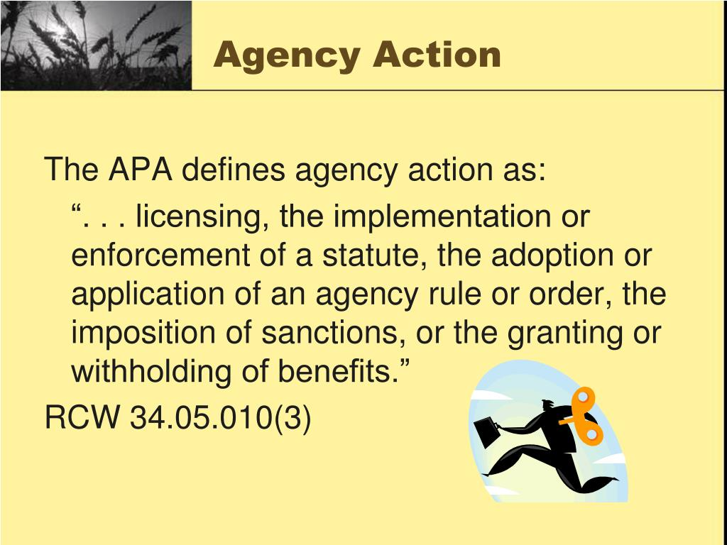 Agency Action