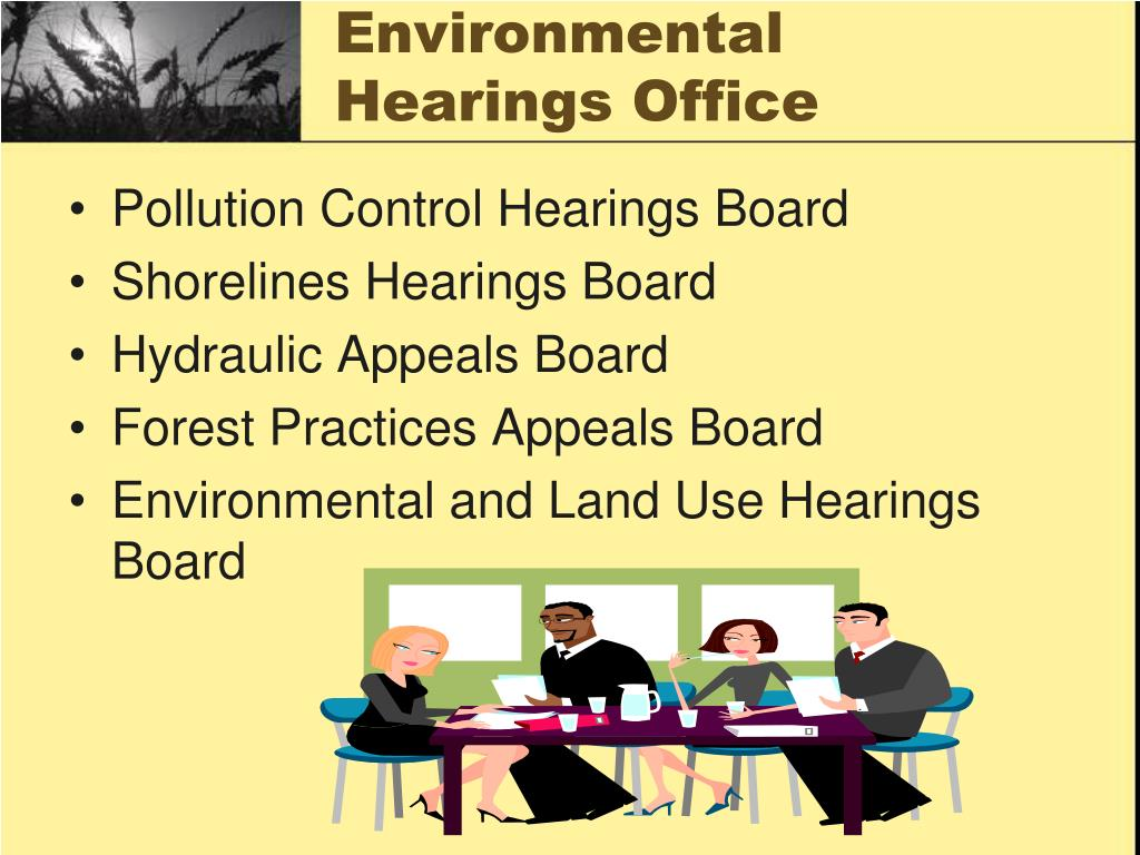 Environmental Hearings Office