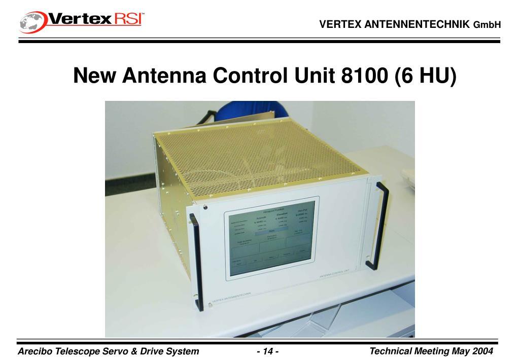 New Antenna Control Unit 8100 (6 HU)