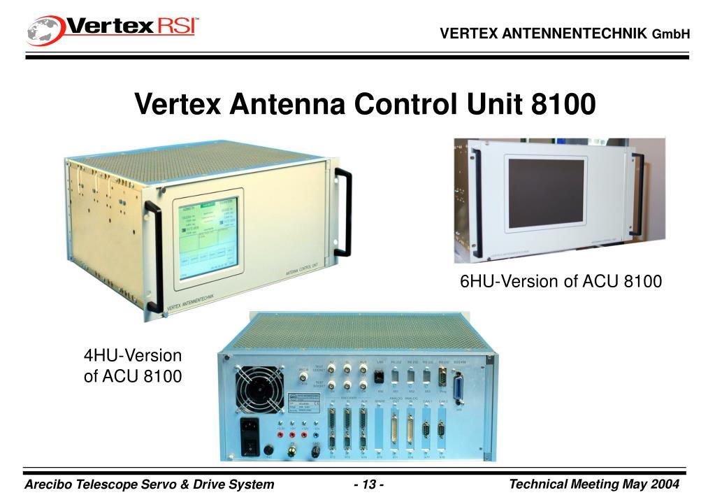 Vertex Antenna Control Unit 8100