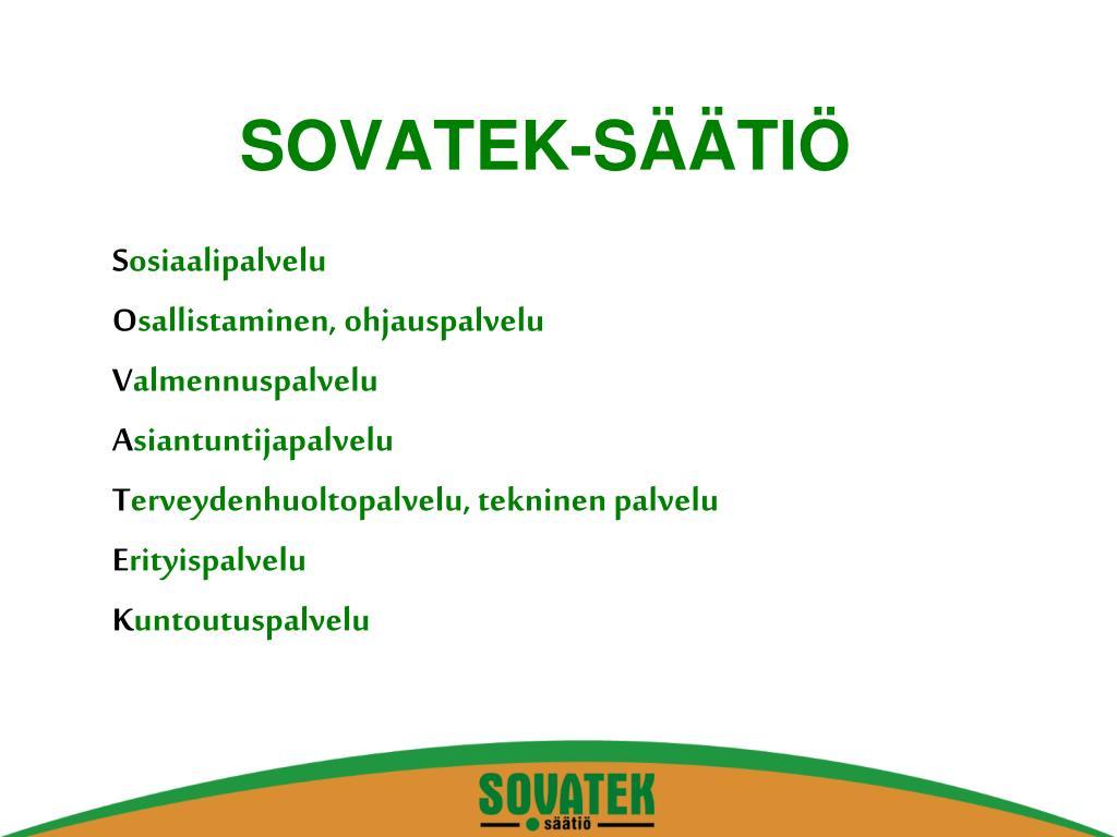SOVATEK-SÄÄTIÖ