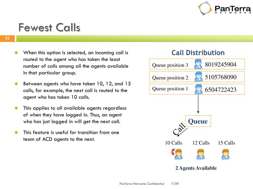 Fewest Calls