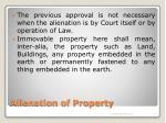 alienation of property12
