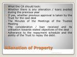 alienation of property14