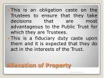 alienation of property3