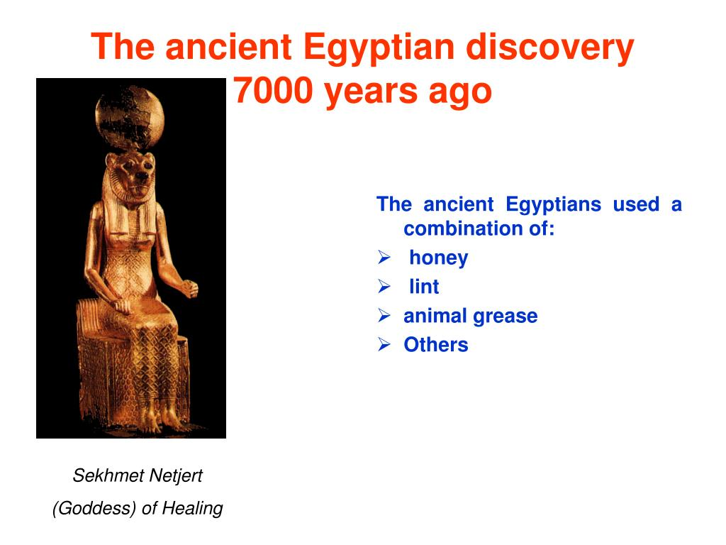 The ancient Egyptian discovery