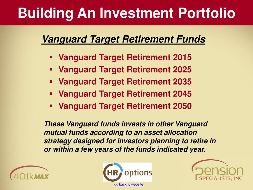 Vanguard Target Retirement 2015
