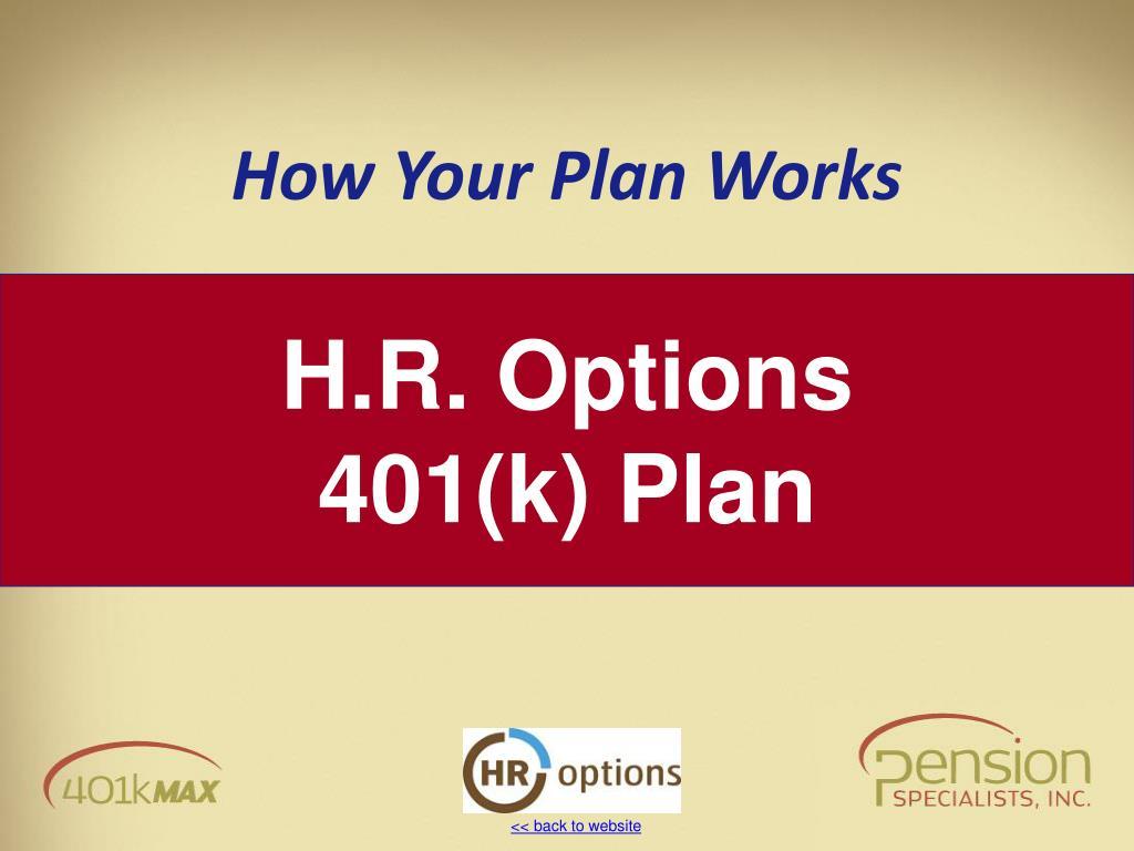 H.R. Options