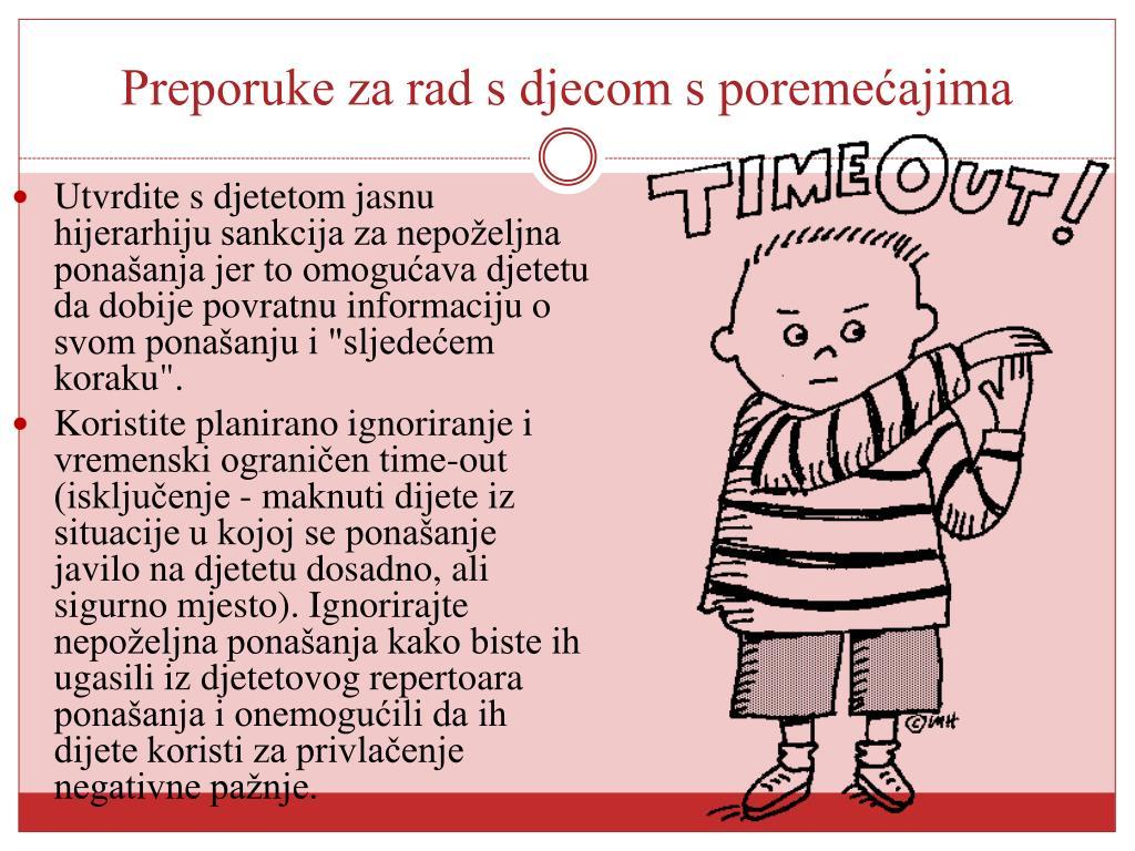"""Utvrdite s djetetom jasnu hijerarhiju sankcija za nepoželjna ponašanja jer to omogućava djetetu da dobije povratnu informaciju o svom ponašanju i """"sljedećem koraku""""."""