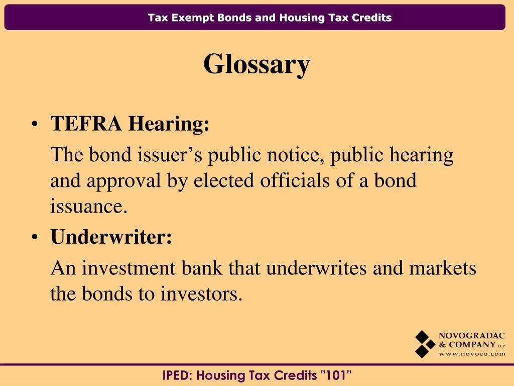 TEFRA Hearing: