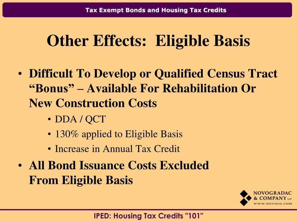 "Difficult To Develop or Qualified Census Tract ""Bonus"" – Available For Rehabilitation Or New Construction Costs"