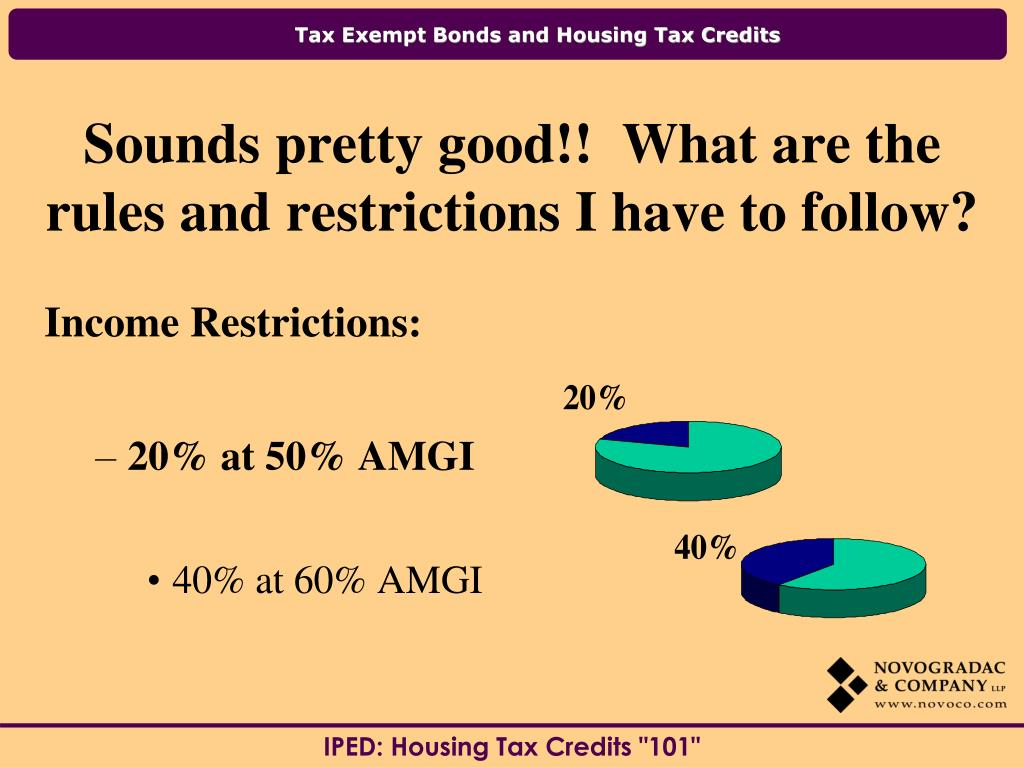 Income Restrictions: