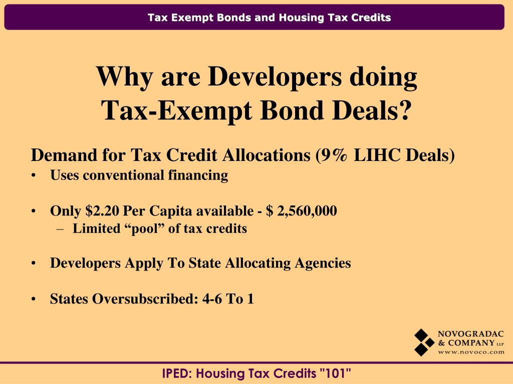 Demand for Tax Credit Allocations (9% LIHC Deals)