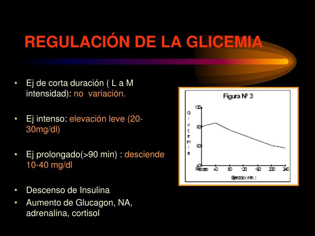 REGULACIÓN DE LA GLICEMIA