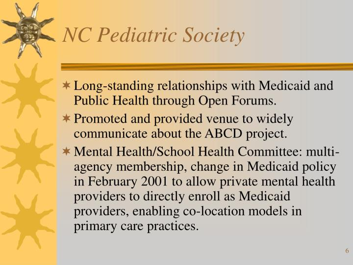 NC Pediatric Society