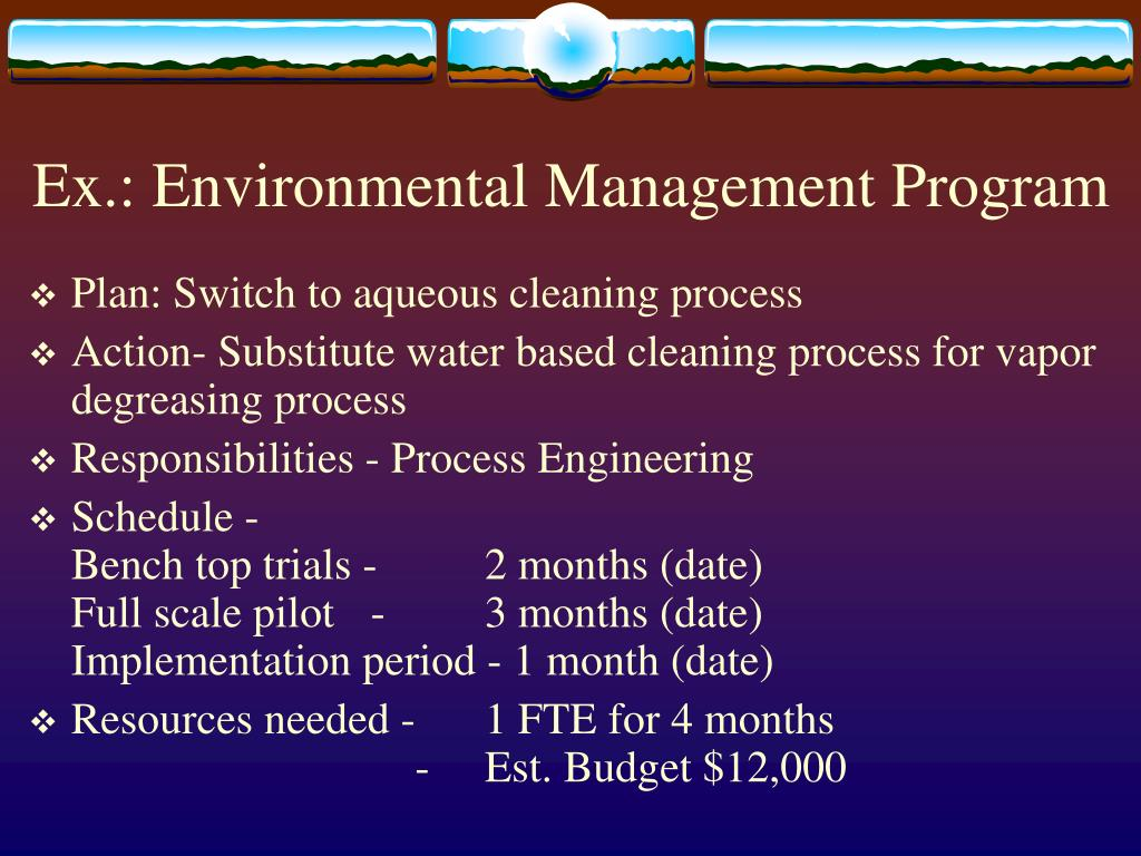 environmental process operations management Environmental scanning refers to possession and utilization of information about occasions, patterns, trends, and relationships within an organization's internal and external environment it helps the managers to decide the future path of the organization.