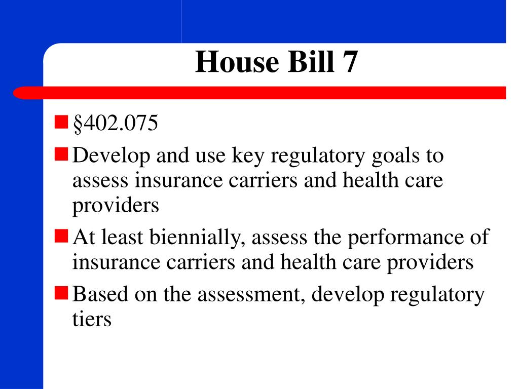 House Bill 7