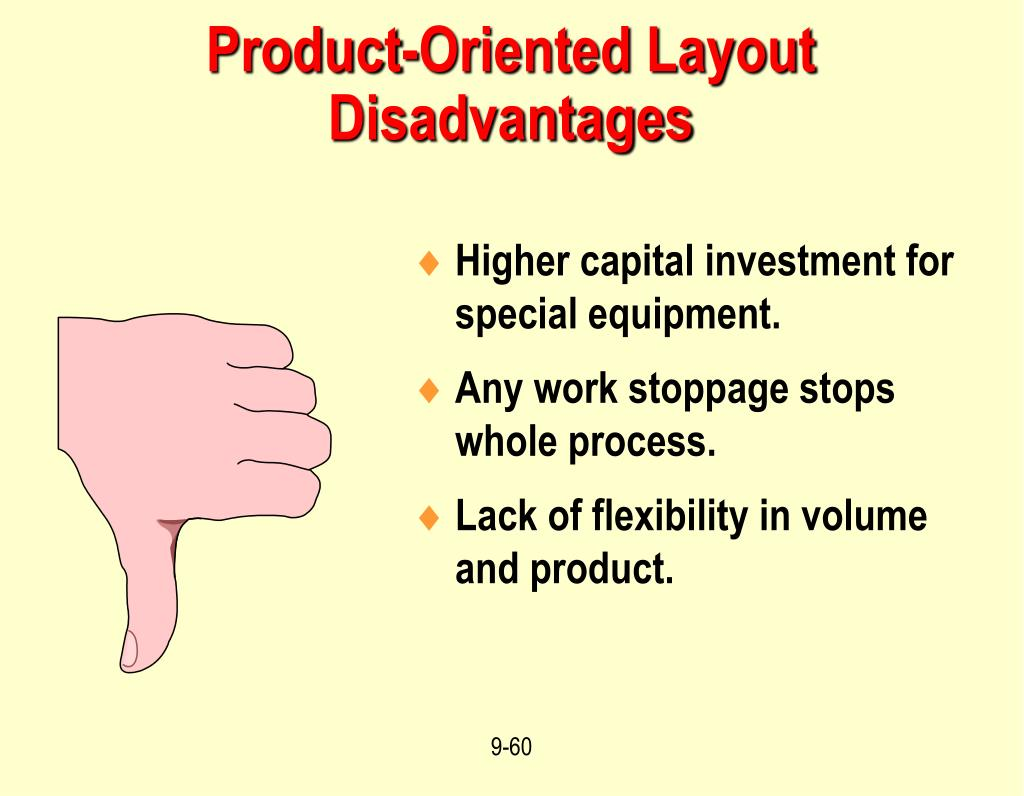 Product-Oriented Layout Disadvantages