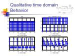 qualitative time domain behavior