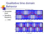 qualitative time domain behavior25