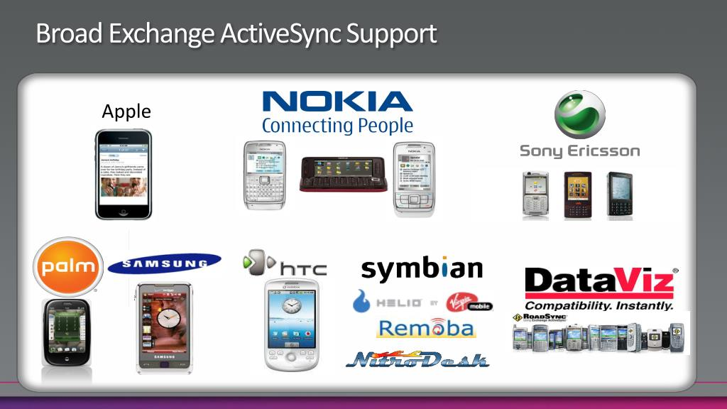 Broad Exchange ActiveSync Support