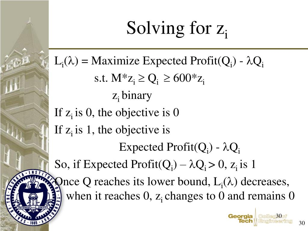 Solving for z