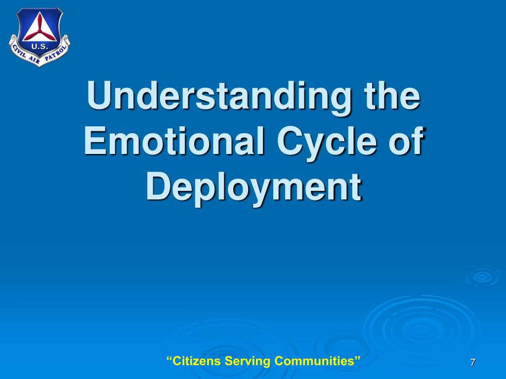 Understanding the Emotional Cycle of Deployment
