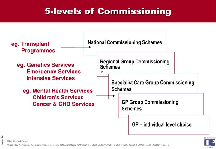 5-levels of Commissioning