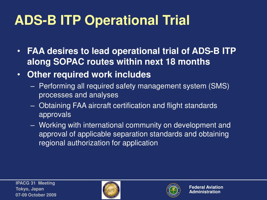 ADS-B ITP Operational Trial