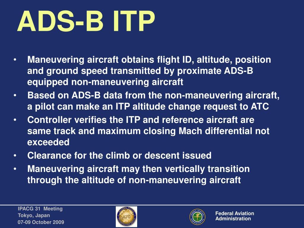 ADS-B ITP