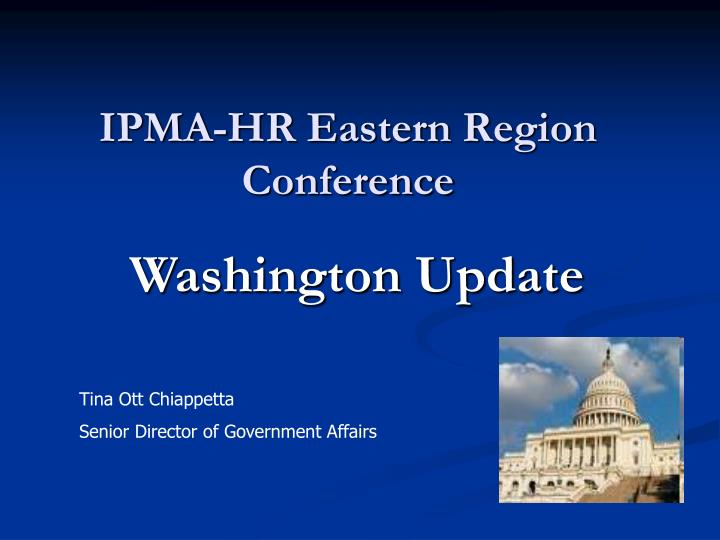Ipma hr eastern region conference