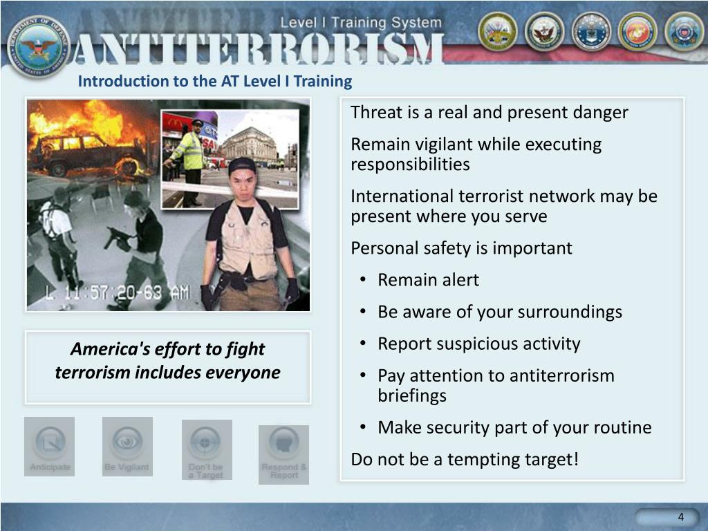 an introduction to the importance of eliminating international terrorism Terrorism: terrorism, the systematic use of violence to create a general climate of fear in a population and thereby to bring about a particular political objective.