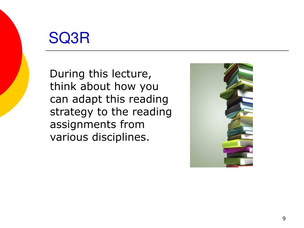 sq3r reading approach thesis 2008-1-30  traditional theories approach reading  sq3r method, also called a reading  electronically supported reading is the most significant part for this thesis,.