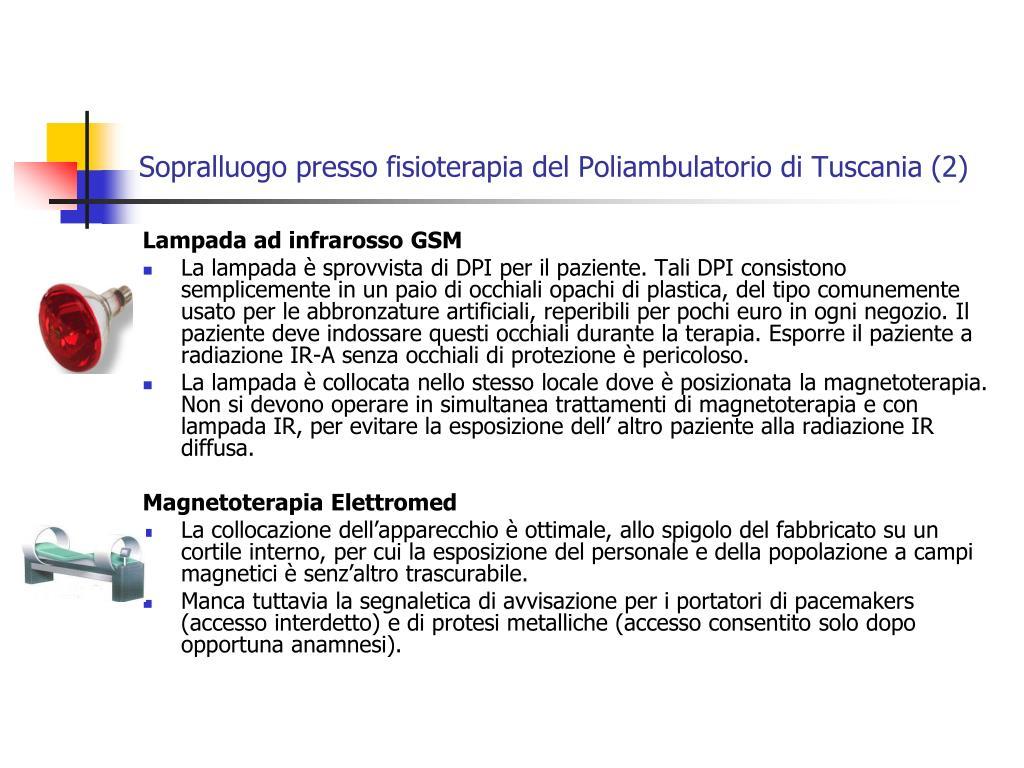 Sopralluogo presso fisioterapia del Poliambulatorio di Tuscania (2)
