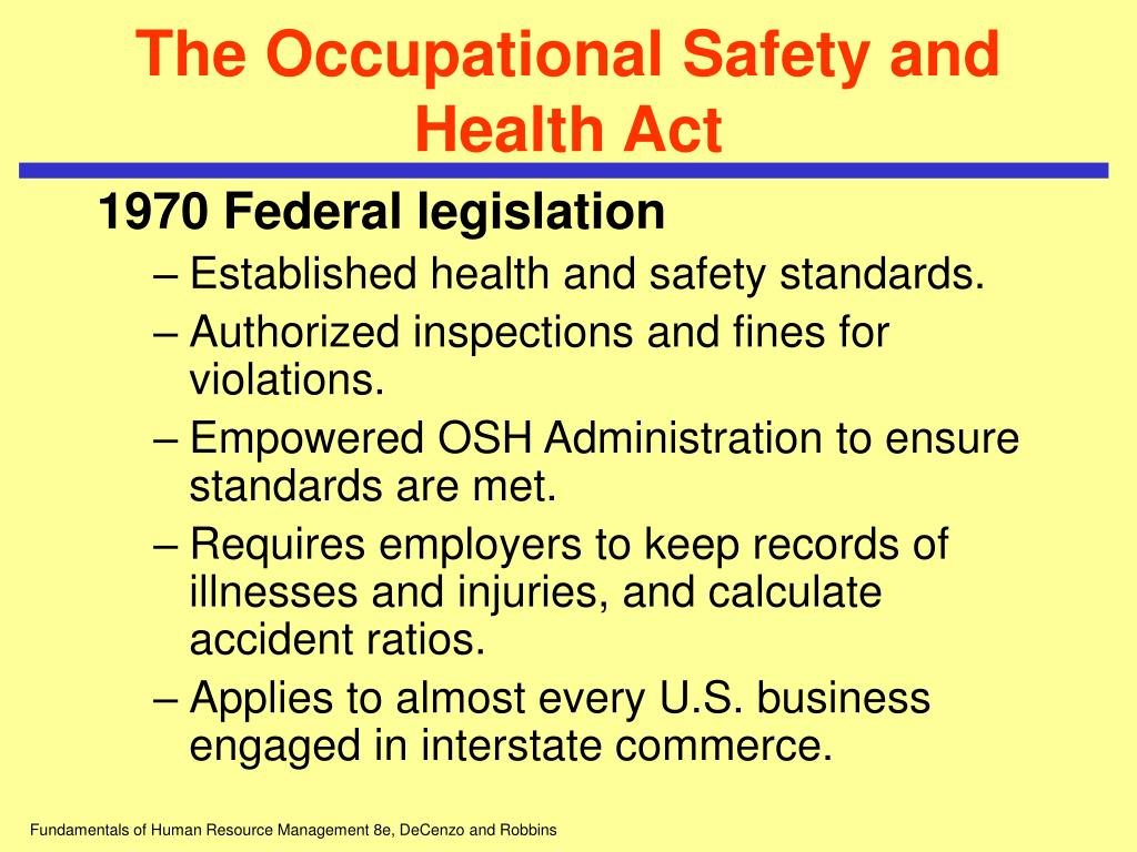 occupational safety and health act essay Occupational safety and health act of 1970 on studybaycom - it's obvious that all employers need to protect, online marketplace for students.