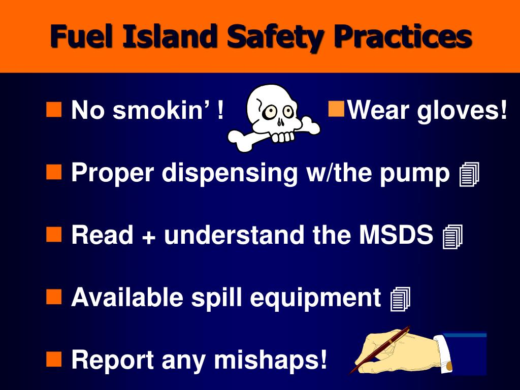 Fuel Island Safety Practices