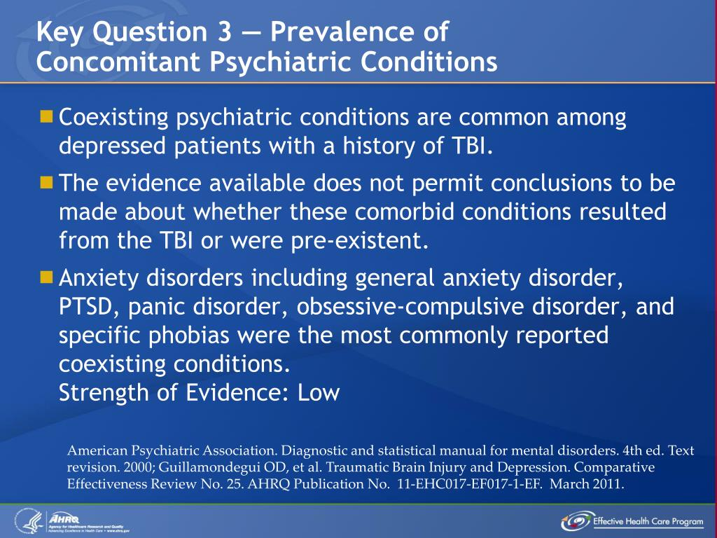 Key Question 3 — Prevalence of