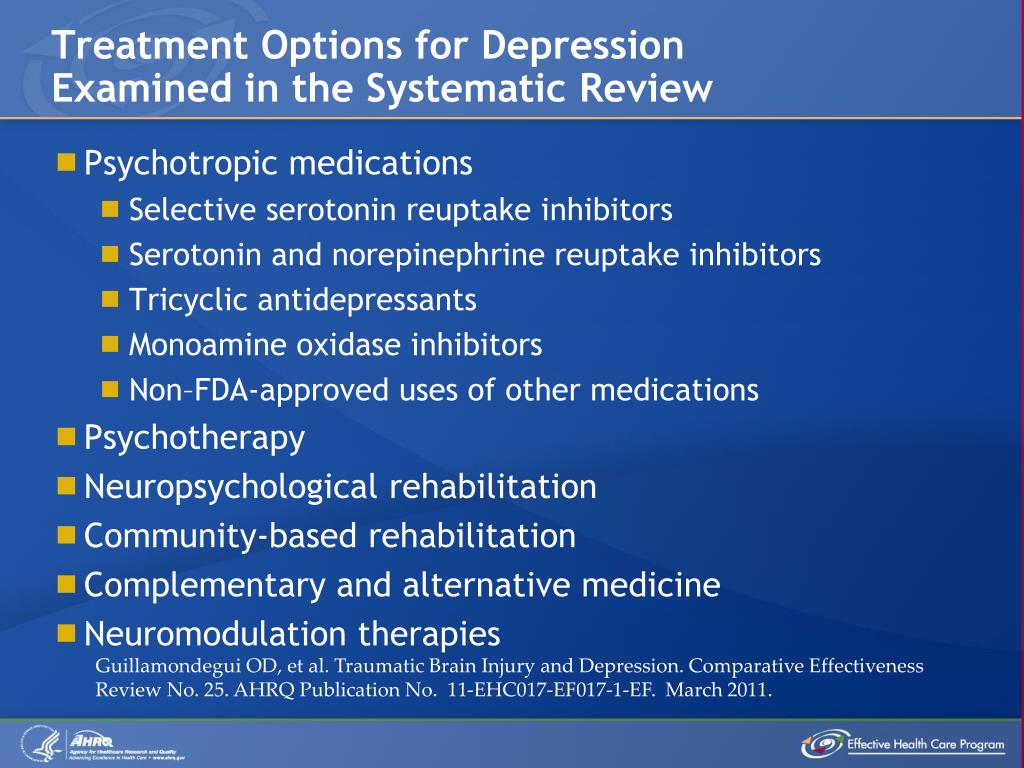 Treatment Options for Depression
